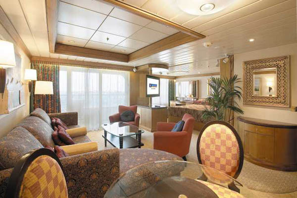 """Сьют """"Owner`s Suite with Balcony"""""""