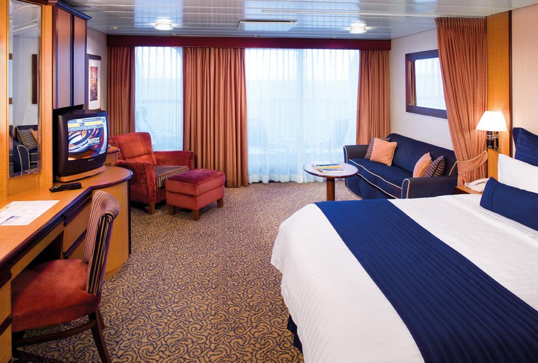"""Каюта с балконом """"Ocean View Stateroom with Balcony"""""""