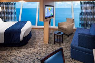 """Каюта с окном """"Larger Panoramic Ocean View Stateroom"""""""