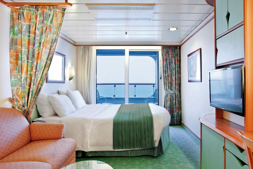 """Каюта с балконом """"Ocean View Balcony"""""""