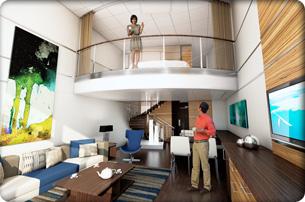 """Сьют """"Grand Loft Suite with Balcony"""""""