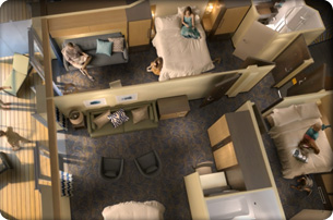 """Сьют """"Family connected Junior Suite with Balcony"""""""