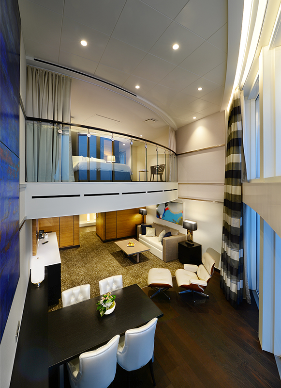 "Сьют ""Owner`s Loft Suite with Balcony"""