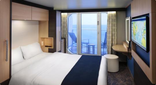 """Каюта с балконом """"Studio Ocean View Balcony"""""""