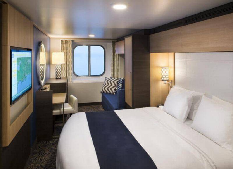 """Каюта с окном """"Ocean View connected Stateroom"""""""