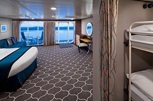 """Каюта с балконом """"Ultra Spacious Ocean View with Large Balcony Stateroom"""""""
