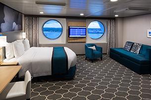 """Каюта с окном """"Ultra Spacious Ocean View Stateroom"""""""