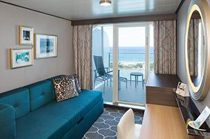 """Каюта с балконом """"Ocean View with Large Balcony Stateroom"""""""
