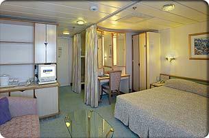 """Каюта с окном """"Family Ocean View Stateroom"""""""