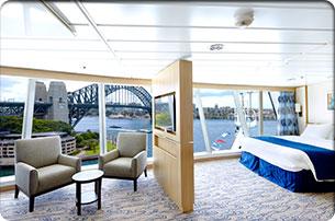 """Каюта с окном """"Family Panoramic Ocean View Stateroom"""""""
