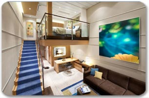 "Сьют ""Crown Loft Suite with Balcony"""