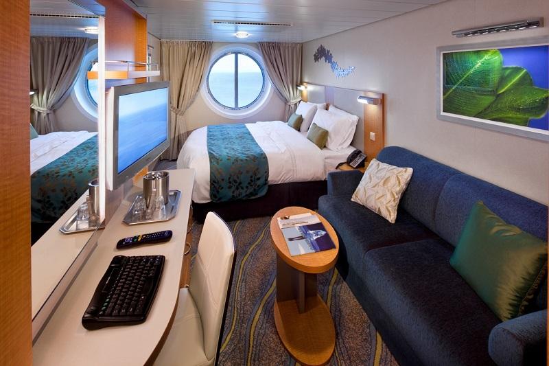 """Каюта с окном """"Oceanview Stateroom Guarantee"""""""