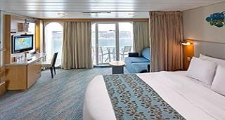 """Каюта с балконом """"Ultra Spacious Ocean View with Balcony"""""""