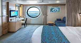 """Каюта с окном """"Ultra Spacious Ocean View"""""""