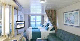 """Каюта с балконом """"Spacious Ocean View Balcony"""""""