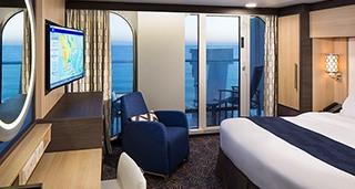 """Каюта с балконом """"Ocean View with Large Balcony"""""""
