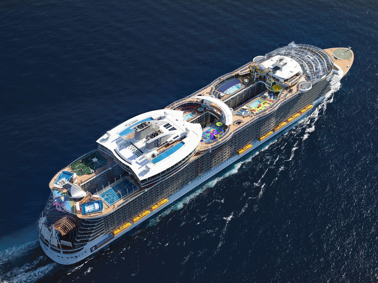 Круизный лайнер Harmony of the Seas - Harmony of the Seas