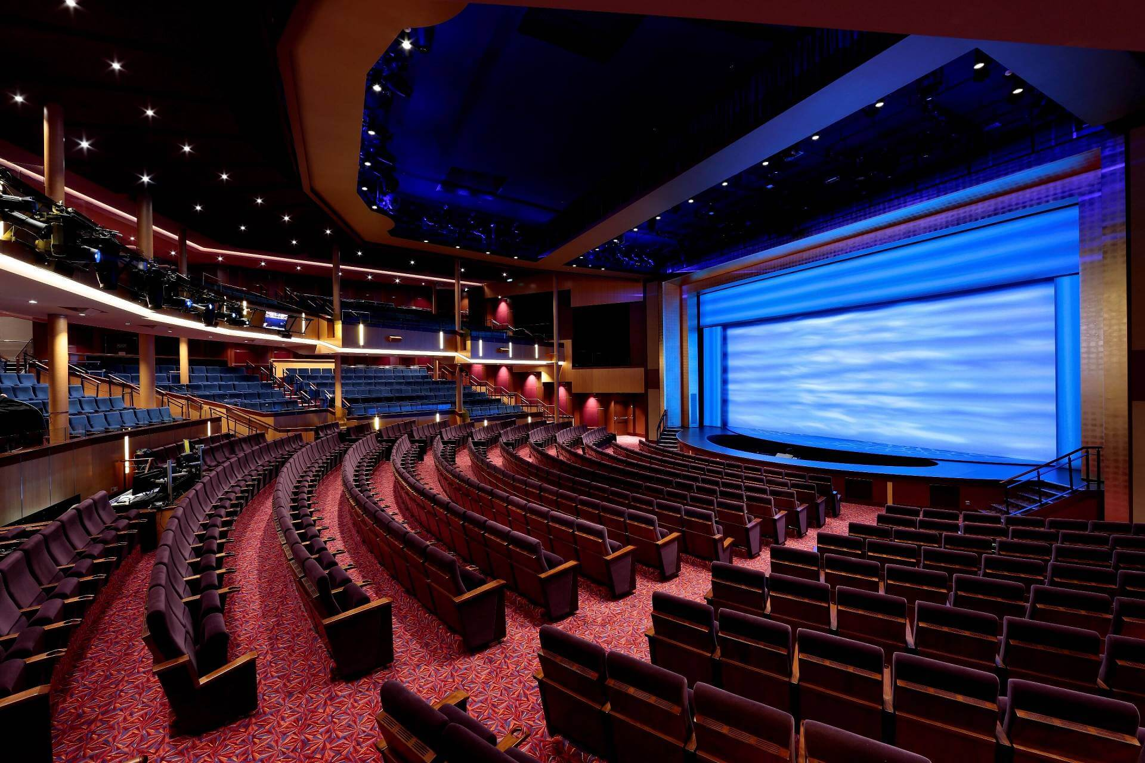 Круизный лайнер Harmony of the Seas - Главный театр лайнера