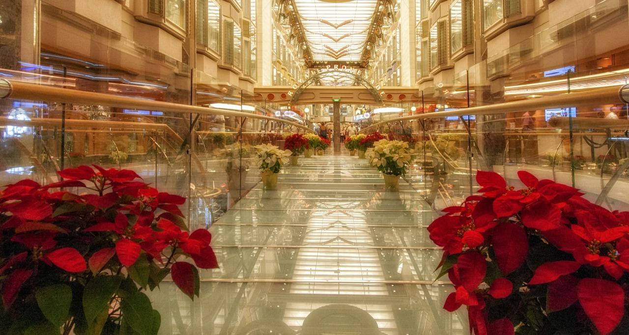 Круизный лайнер Independence of the Seas - RCI_Independence_Christmas_Promenade-51
