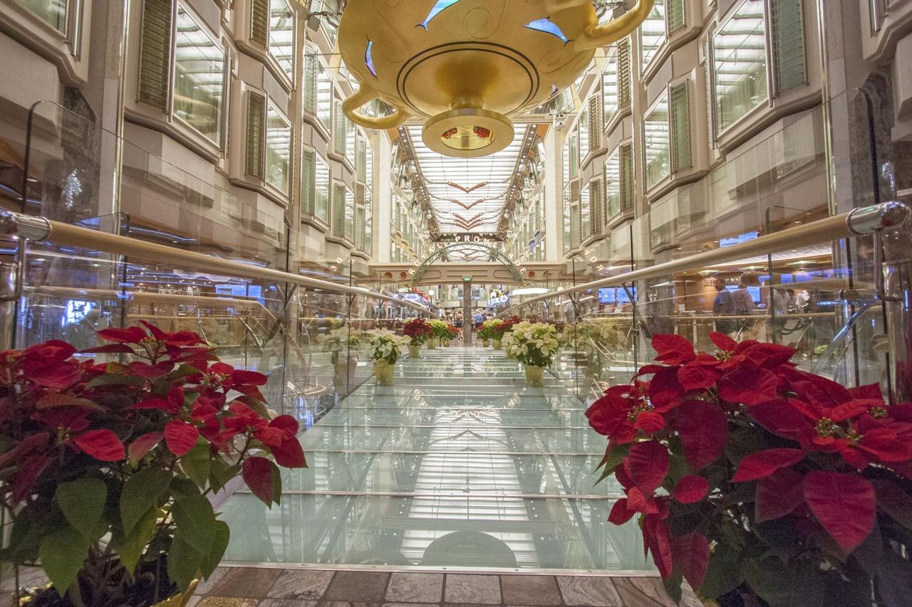 Круизный лайнер Independence of the Seas - RCI_Independence_Christmas_Promenade-53