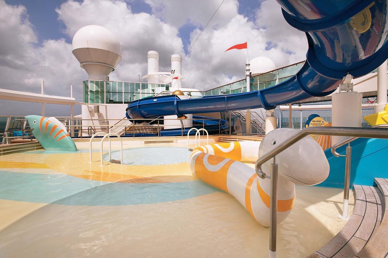 Круизный лайнер Jewel of the Seas - Аквапарк (Adventure Beach)