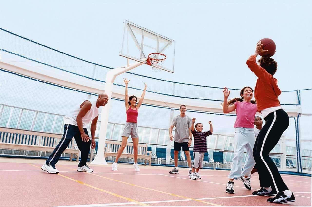 Круизный лайнер Jewel of the Seas - Баскетбол (Basketball Game)