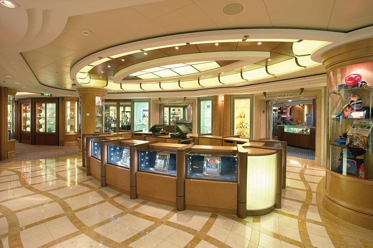 Круизный лайнер Jewel of the Seas - Галерея бутиков (Onboard Shops)