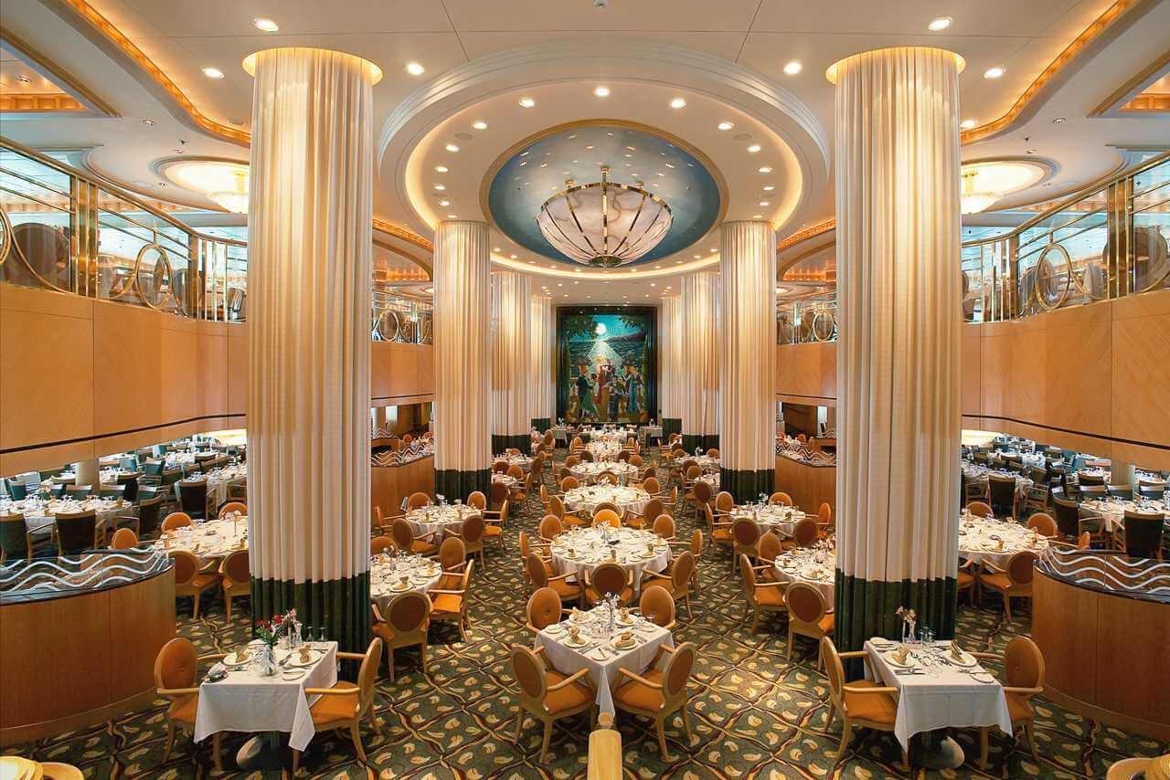 Круизный лайнер Jewel of the Seas - Основной ресторан (Dining Room)