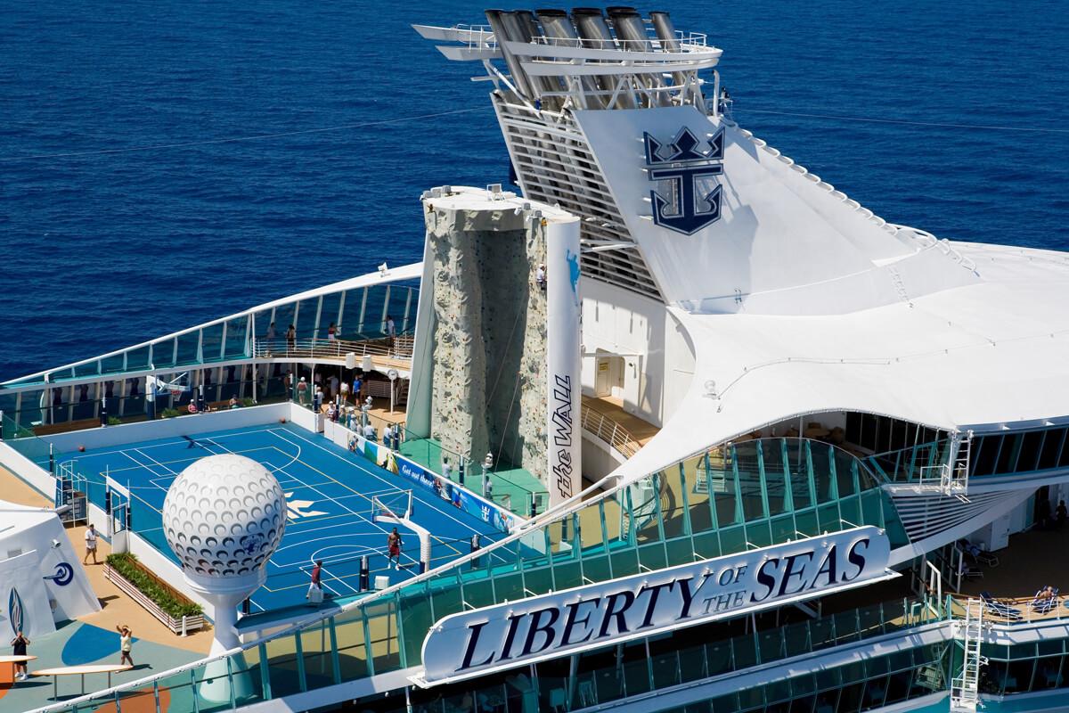 Круизный лайнер Liberty of the Seas - Виды палуб (Decks)