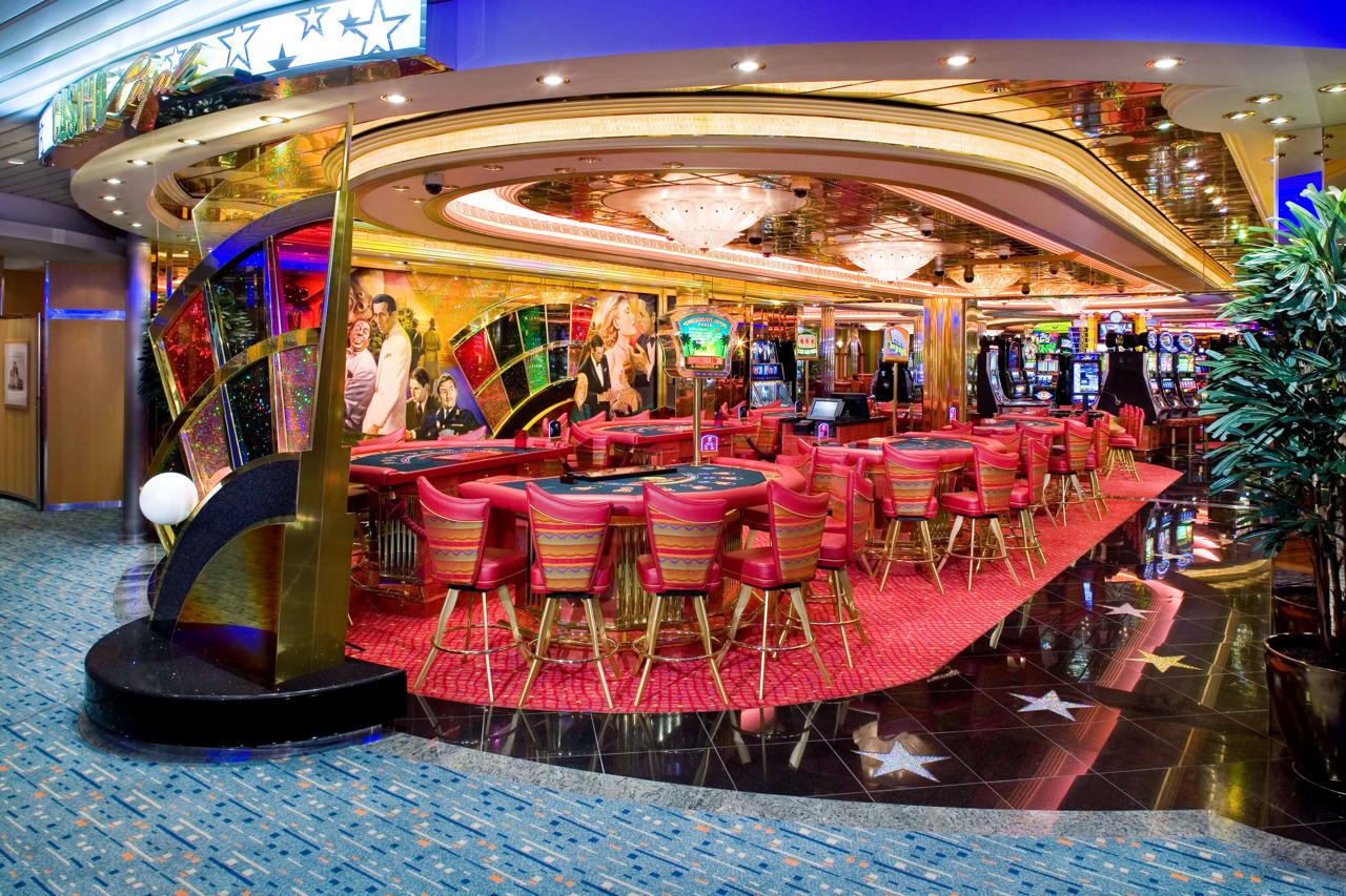 Круизный лайнер Liberty of the Seas - Казино (Casino Royale)