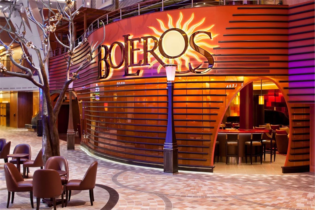 Круизный лайнер Liberty of the Seas - Гостиная Boleros (Boleros)