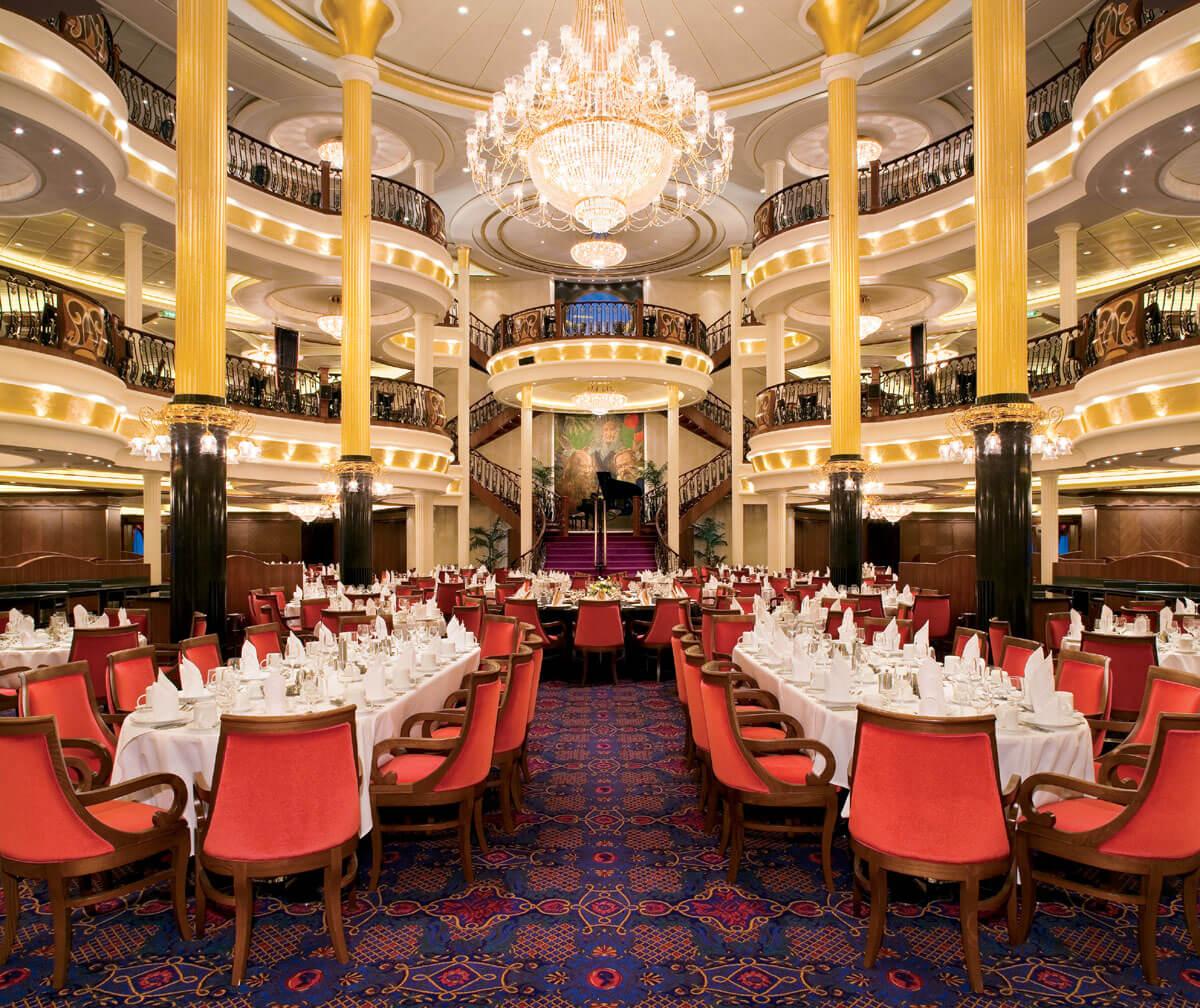 Круизный лайнер Liberty of the Seas - Основной ресторан (Main Dining)