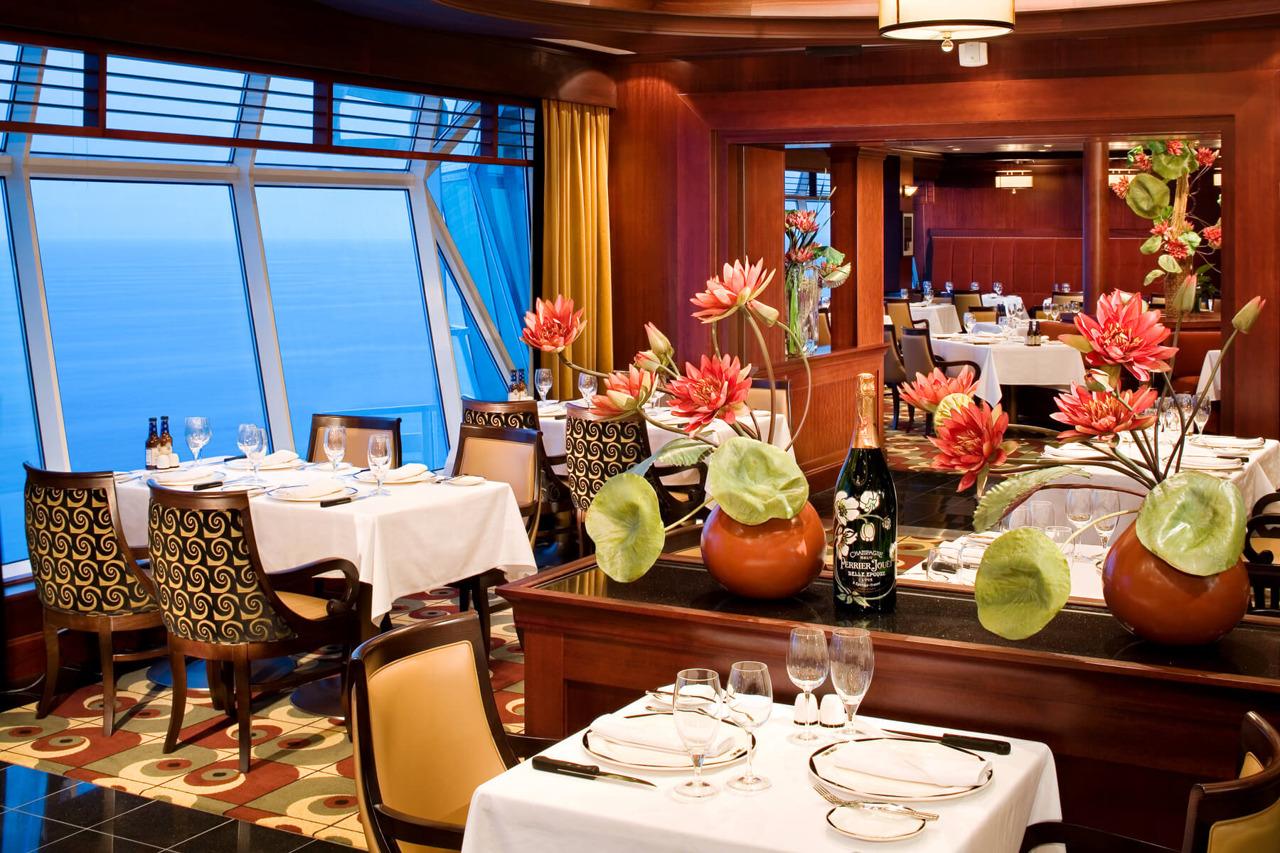 Круизный лайнер Liberty of the Seas - Стейк-хаус Chops Grille (Chops Grille)