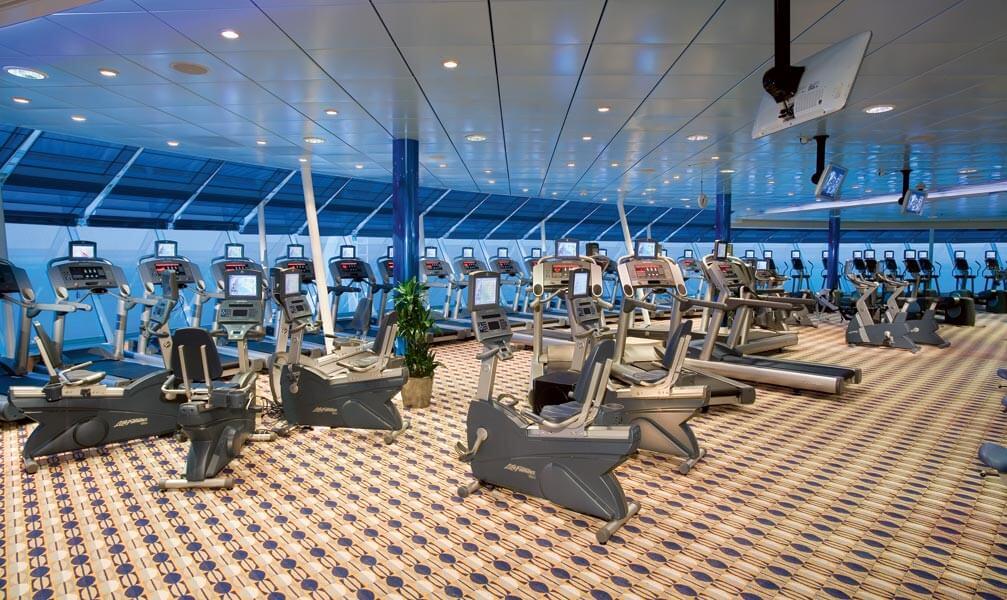 Круизный лайнер Liberty of the Seas - Тренажерный зал (Gym)