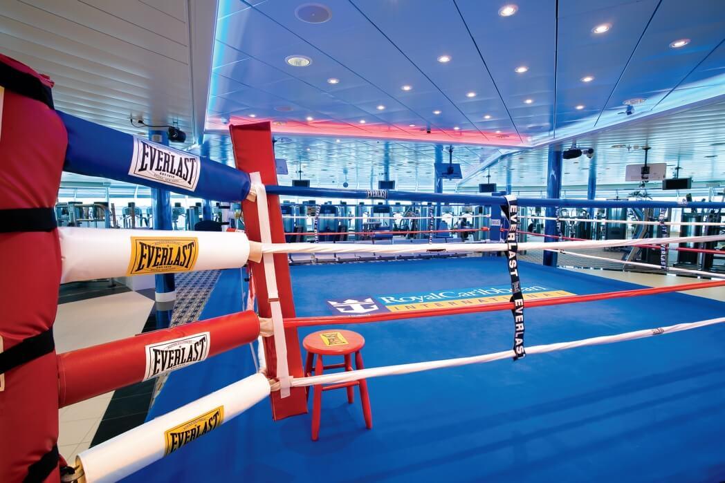 Круизный лайнер Liberty of the Seas - Ринг (Boxing Ring)