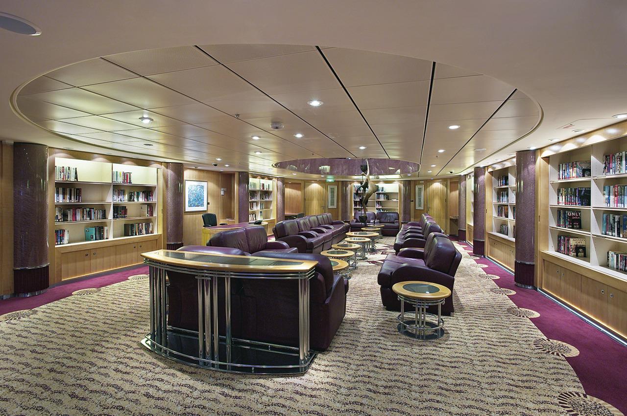 Круизный лайнер Mariner of the Seas - Библиотека (Library)