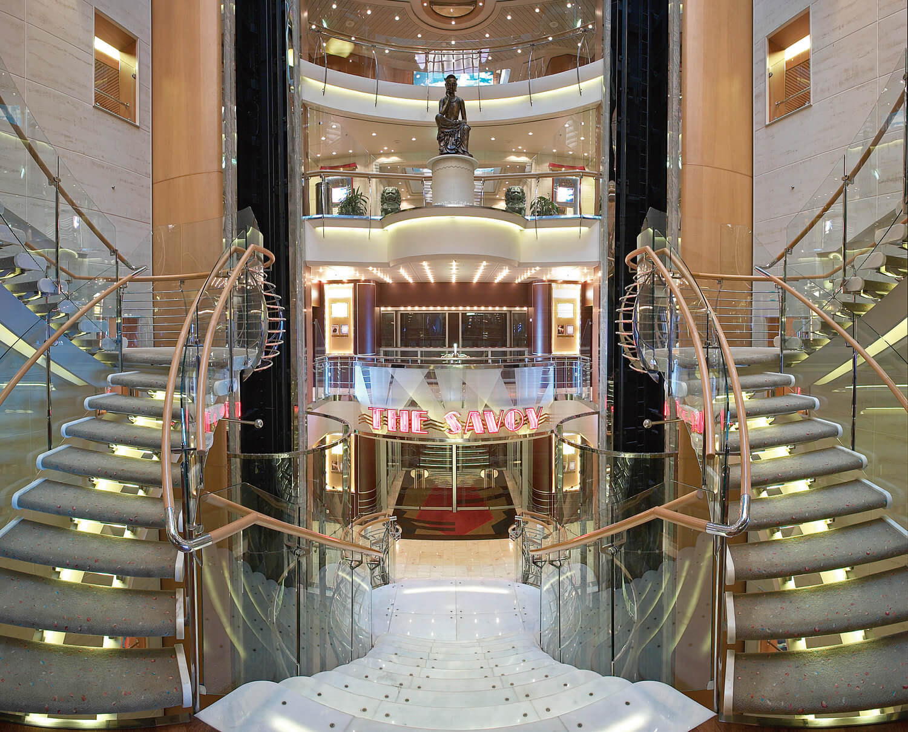 Круизный лайнер Mariner of the Seas - Атриум (Atrium)
