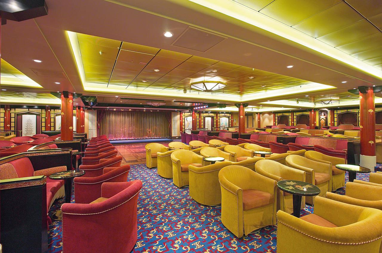 Круизный лайнер Mariner of the Seas - Гостиная Лотос (Lotus Lounge)