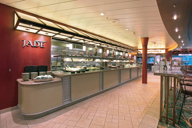 Круизный лайнер Mariner of the Seas - Ресторан японской кухни (Jade Restaurant)