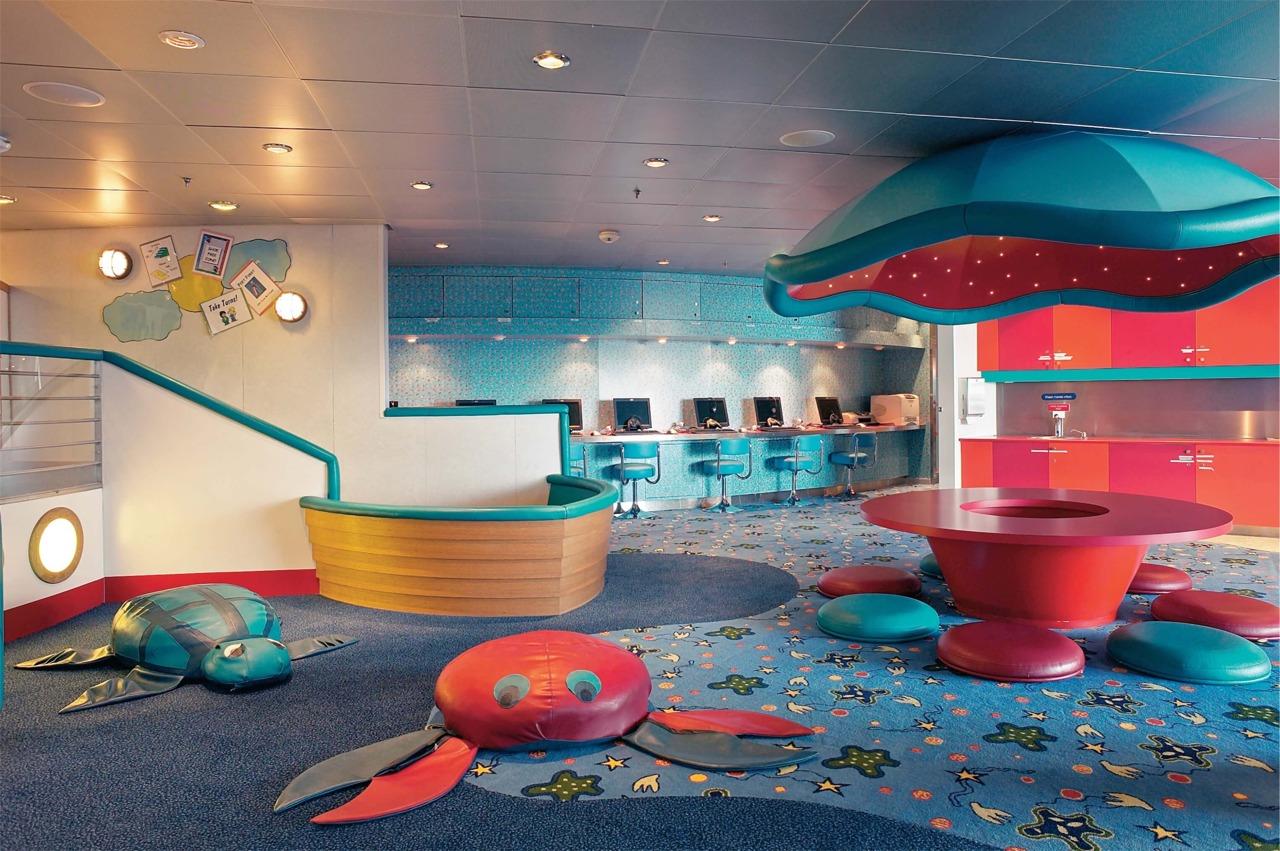 Круизный лайнер Mariner of the Seas - Детский клуб (Aquanauts)