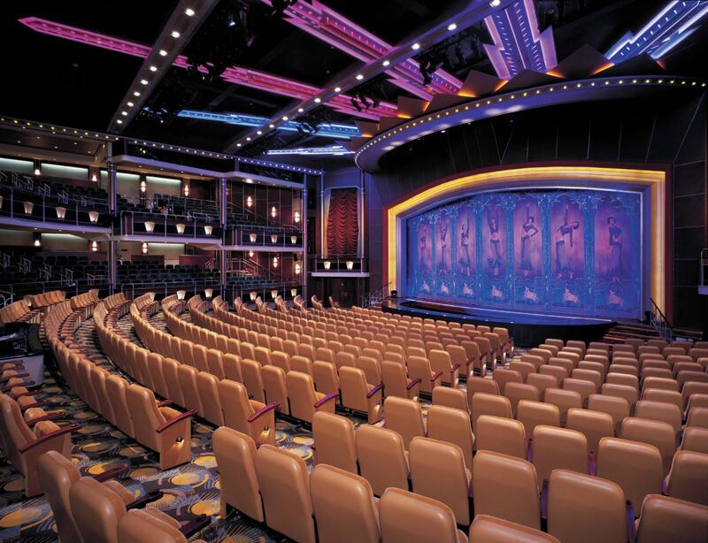 Круизный лайнер Navigator of the Seas - Театр (Theater)