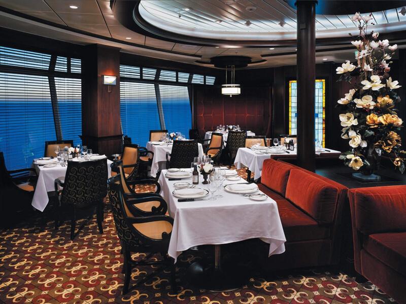 Круизный лайнер Navigator of the Seas - Стейк-хаус (Chops Grille)