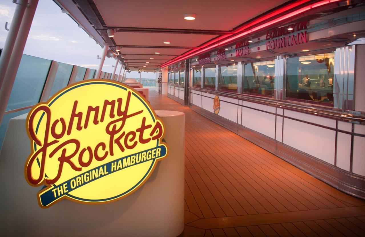 Круизный лайнер Navigator of the Seas - Ресторан Johnny Rockets (Johnny Rockets)