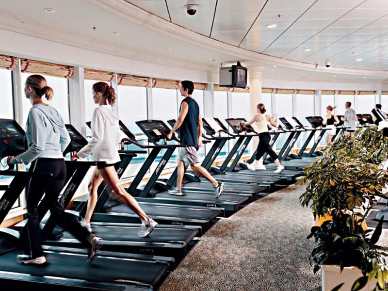 Круизный лайнер Navigator of the Seas - Тренажерный зал (Fitness Center)
