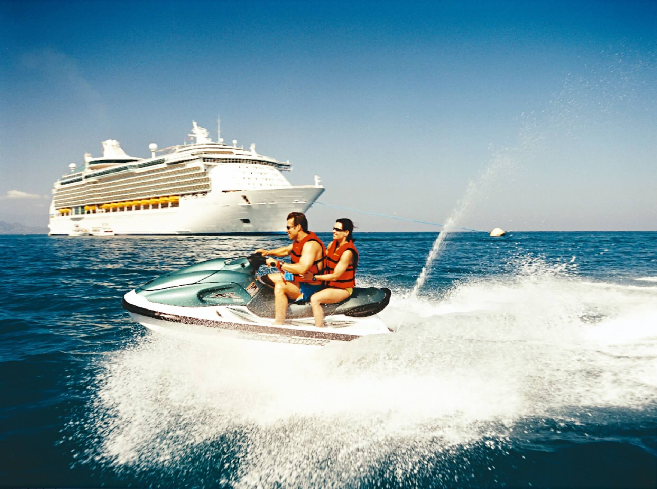 Круизный лайнер Navigator of the Seas - Водный мотоцикл (Jetski)
