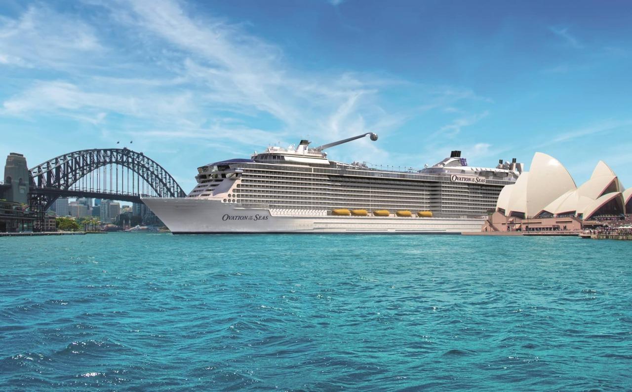 Круизный лайнер Ovation of the Seas - Ovation of the Seas