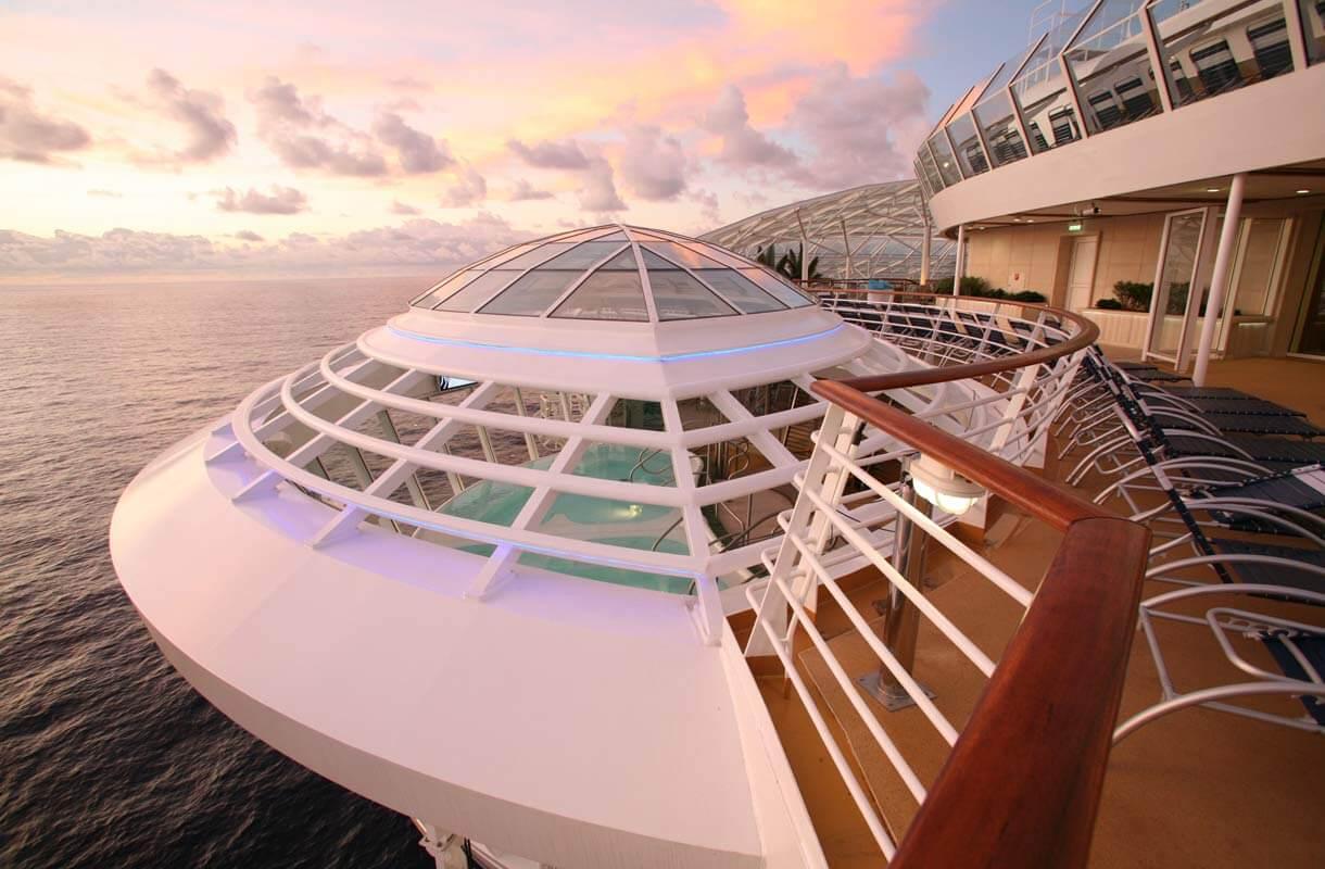Круизный лайнер Allure of the Seas - Джакузи (Whirlpool)