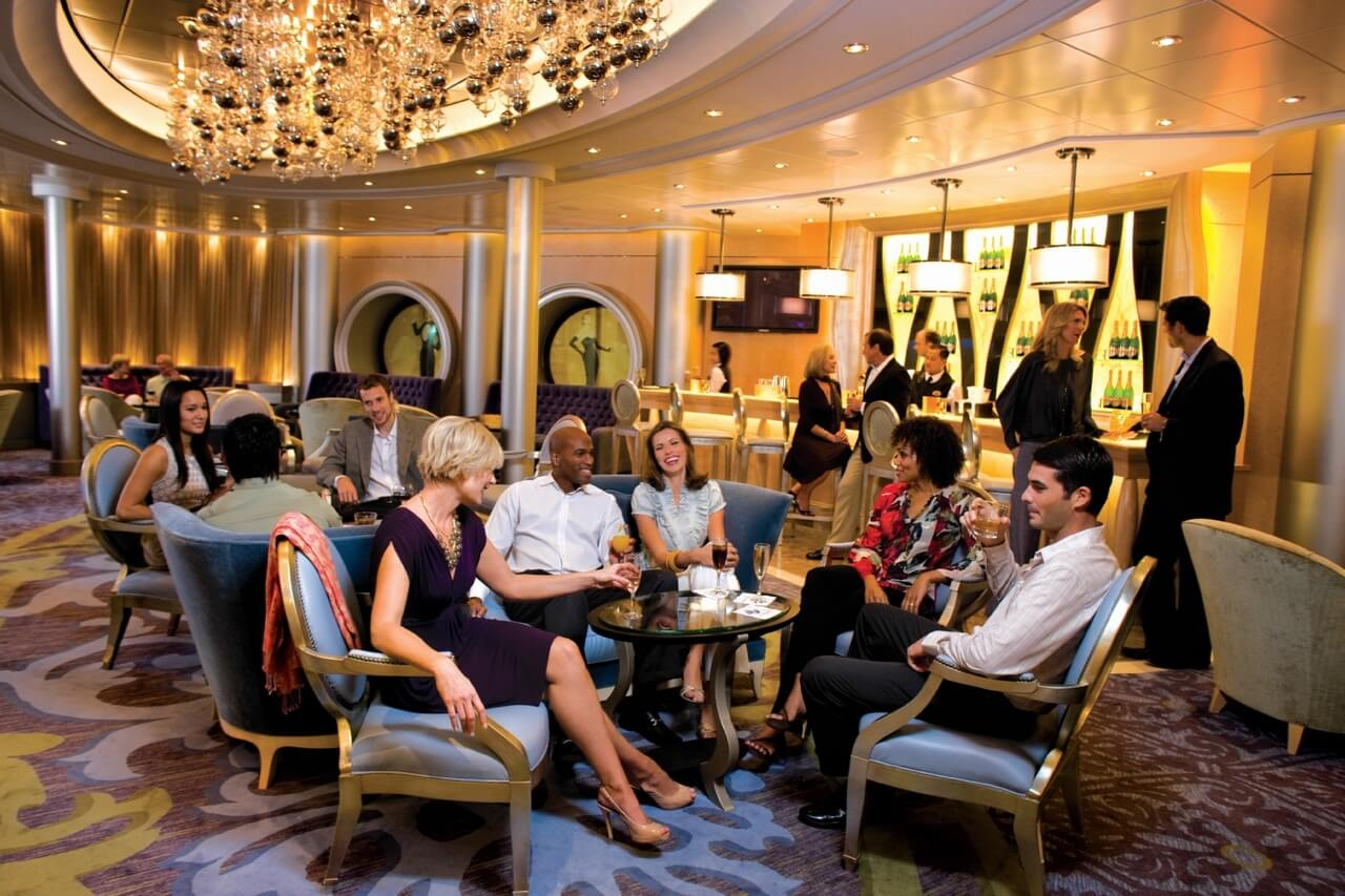 Круизный лайнер Allure of the Seas - Шампань бар (Champagne Bar)