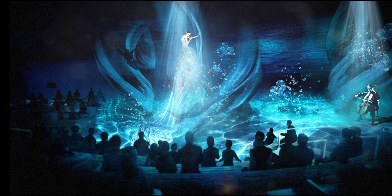 Круизный лайнер Quantum of the Seas - Представление в зале Two70