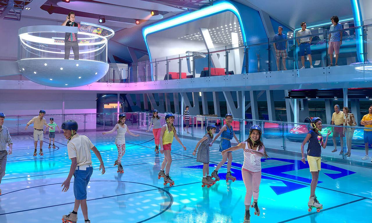 Круизный лайнер Quantum of the Seas - Роллердром